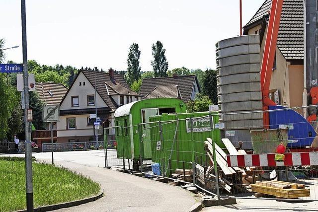 Verwunderung über die Langzeitbaustelle Stettiner Straße