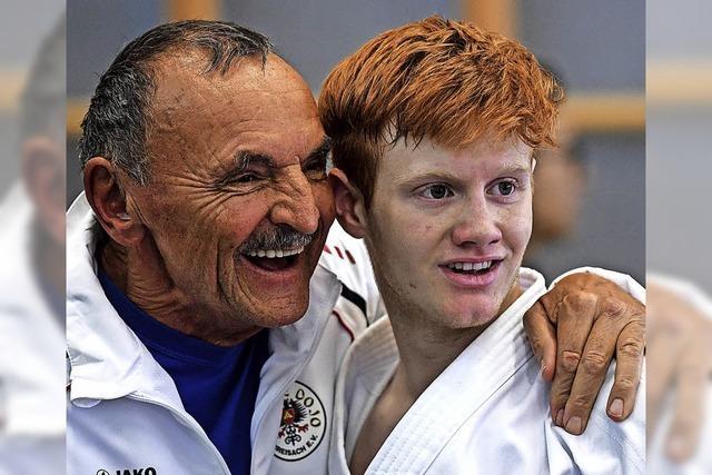 Goldenes Heimspiel für Karatekas