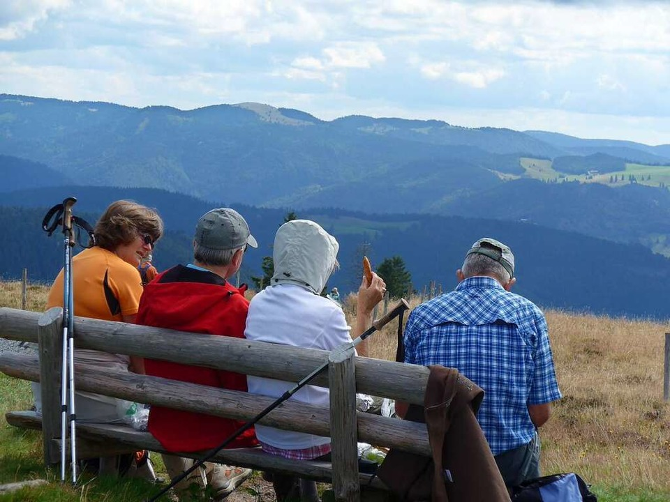 Schönste Aussicht: Der Belchen  | Foto: Daniel Gramespacher