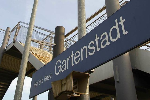 Bahnhof Weil für S-Bahn S 5 gesperrt