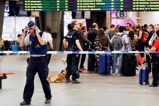 Schuss an Brüsseler Bahnhof löst Panik aus – keine Verletzten