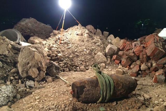 Die Weltkriegsbombe in Freiburg ist entschärft – Die Evakuierten können zurück in ihre Wohnungen