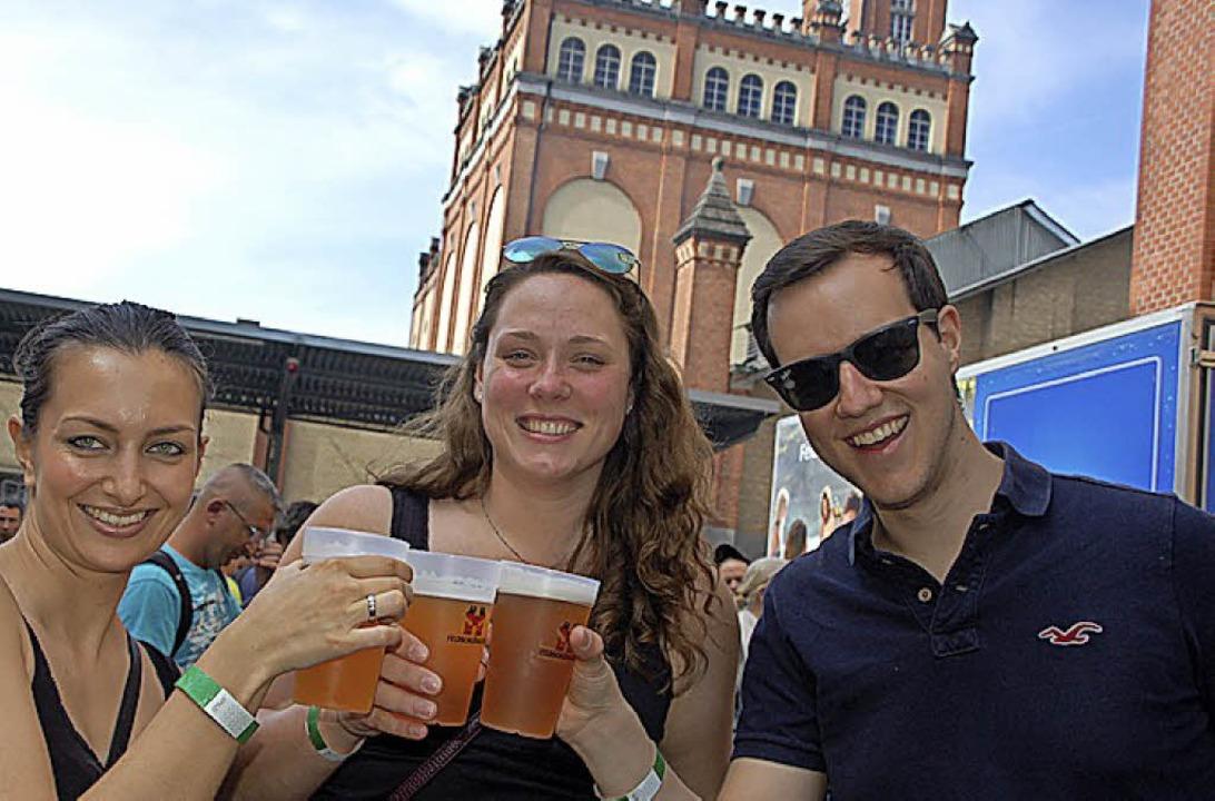 Fröhliches Bierfest   | Foto: P.  Wunderle