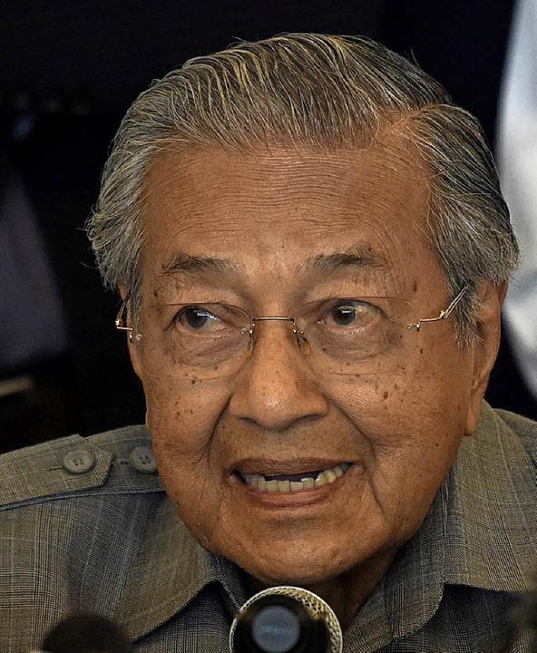 Mahathir Mohamad  | Foto: afp