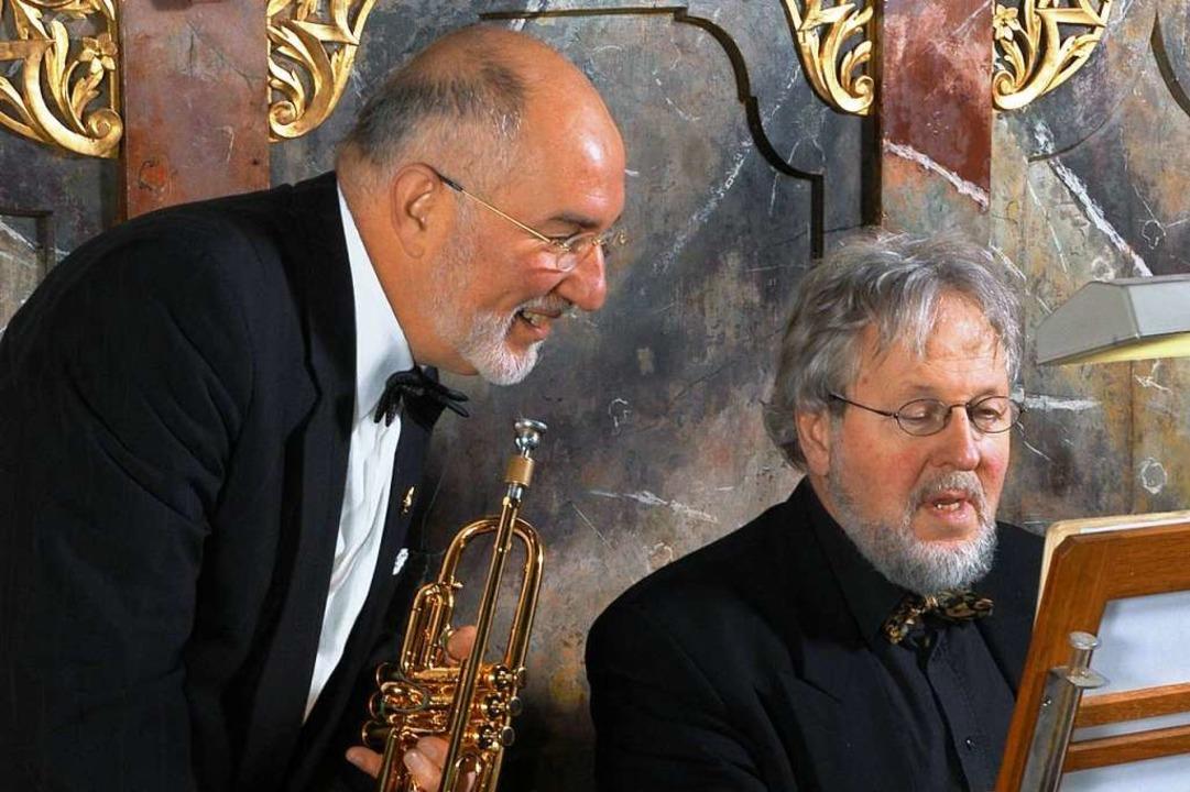 Claude Rippas (links) und Friedrich Fröschle   | Foto: PR