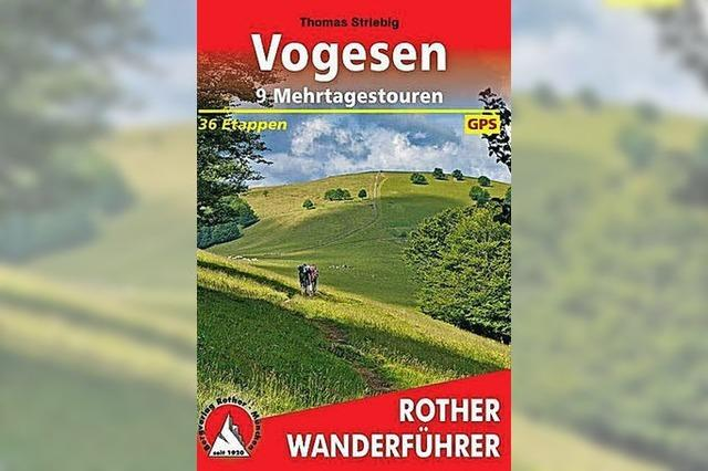 Wanderführer Vogesen