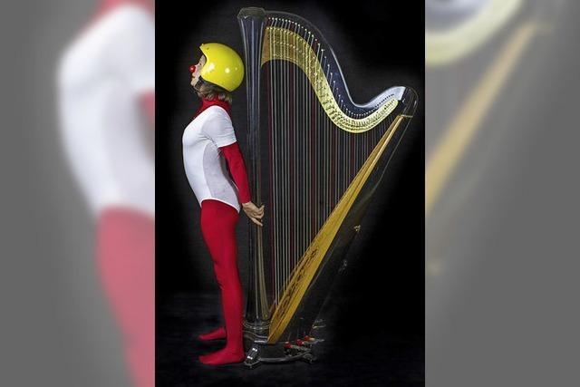 Humoristisches Programm mit Harfe
