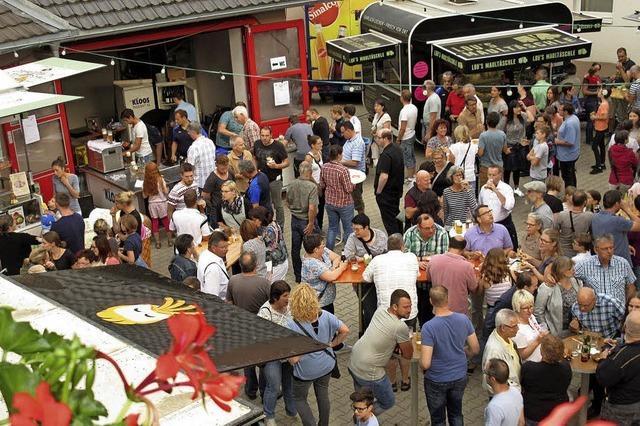 Erstes Food-Truck-Feschtli in Nordweil