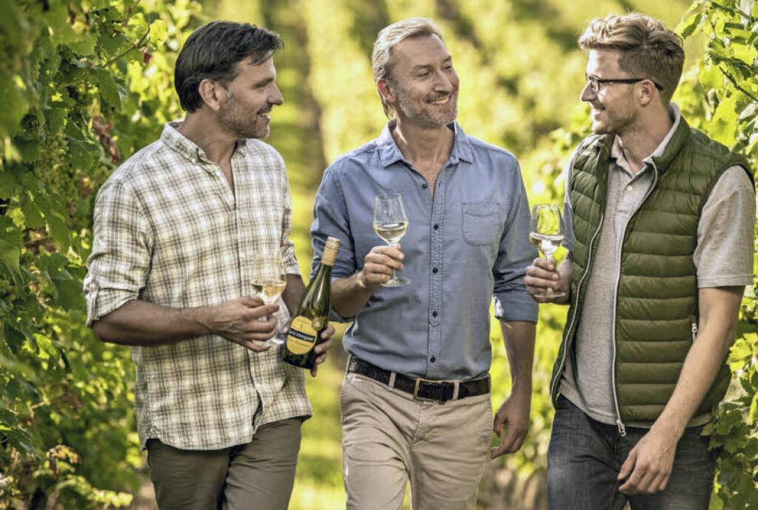 Vom Weinberg zu Weinkult Breisgau: Die...adischen Winzerkellers sind mit dabei.  | Foto: Badischer Winzerkeller