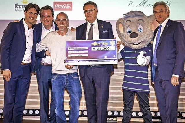 25 000 Euro für Til-Schweiger-Foundation