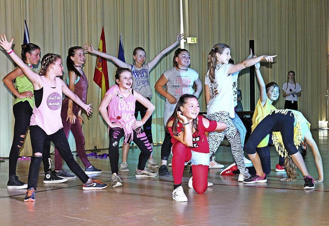 "Die ""Dance Delicious Young Teens"" aus Denzlingen.   | Foto: Karin Heiss"