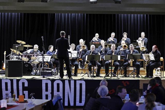 Big Band Elzach und Big Sick Band spielen am 13. Mai in Waldkirch