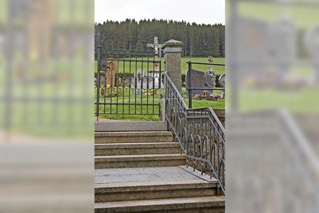 Urnengräber für alle Ortsteile