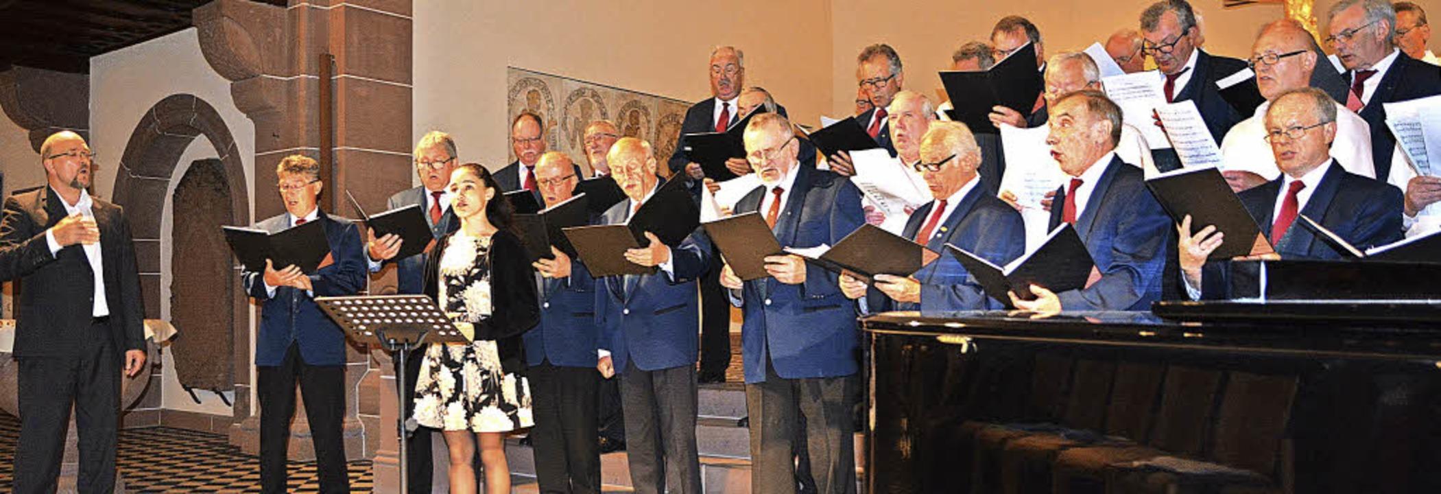Gelungenen Chorgesang gab's  in der Pauluskirche Badenweiler zu hören.     Foto: Privat