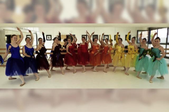 Tänzerinnen und Tänzer der Musikschule Nördlicher Breisgau in Emmendingen