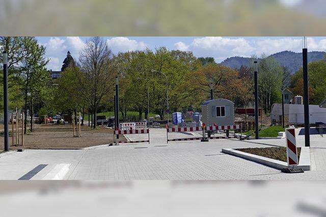 Geselliger Treff beim Bürgerparkfest am Nachmittag