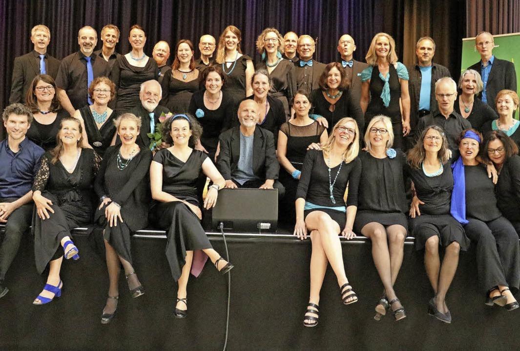 Deutscher ChorwettbewerbSenior Jazzchor Freiburg  | Foto: Otto Schnekenburger