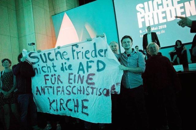 Katholikentags-Debatte mit AfD-Politiker läuft teils aus dem Ruder