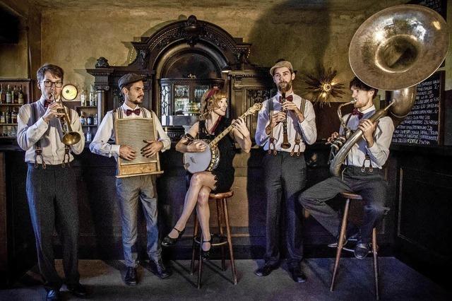 Rufus Temple Orchestra am 17.Mai im Bolando in Bollschweil