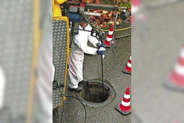 Abwassernetz beim Spielweg wird saniert