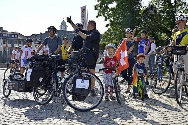 Stadtradler machen Fahrt