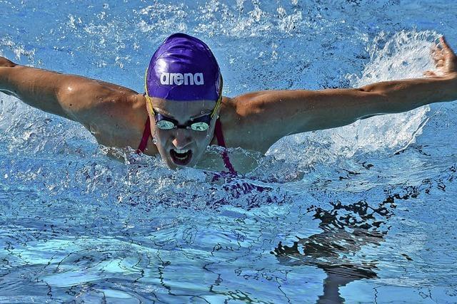 Bahn frei für Schwimmer bei angenehmer Temperatur