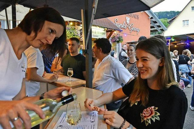 Zehntausende Besucher kommen zu den St. Georgener Weintagen