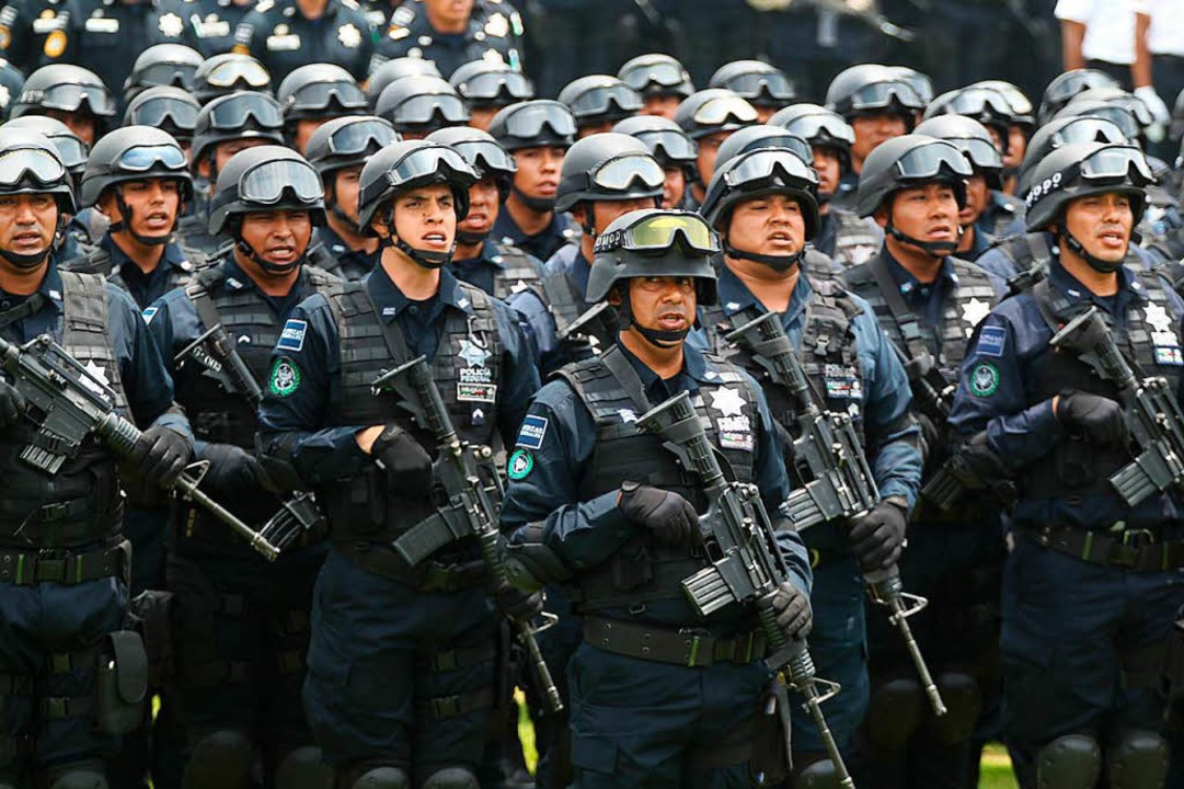 Parade zum Tag der Polizei in Mexiko-Stadt  | Foto: José Pazos