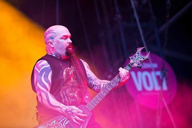 Slayer treten in Freiburg auf