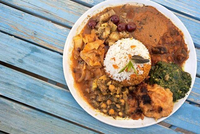 Café am Schloss in Ebnet: Persisch und vegan