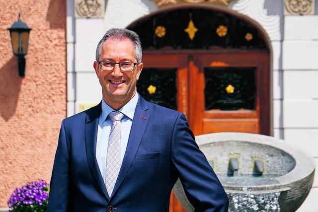 Andreas Graf bewirbt sich mit Engagement und Erfahrung