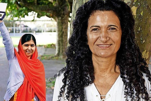 Sems Sera Leisinger erzählt die Geschichte von Malala Yousafzai in Müllheim