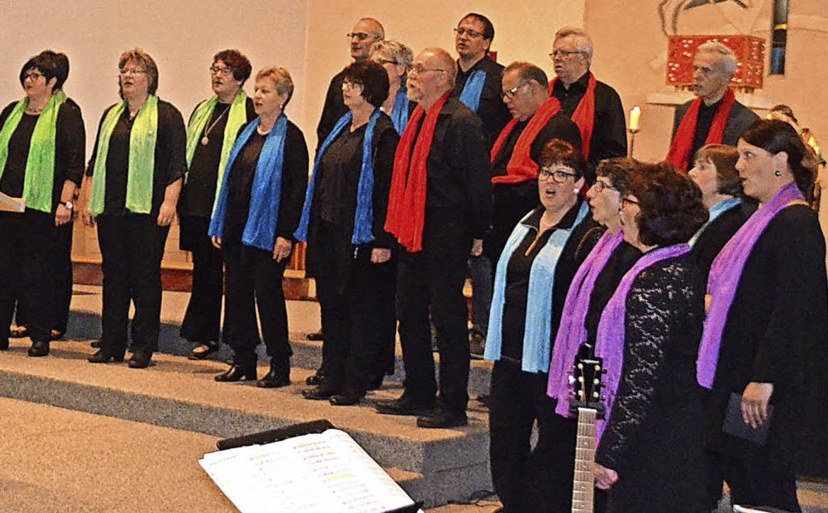 Die Gospel Singers in Aktion  | Foto: Jörg Schimanski