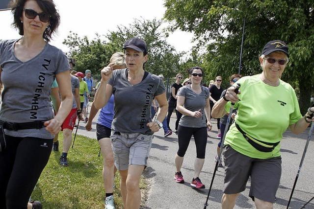 Walken, joggen oder hocken – dabei sein ist alles