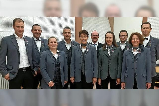 Die Stadtkapelle ehrt langjährige Mitglieder