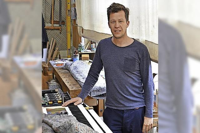 Orgelbauer in der fünften Generation