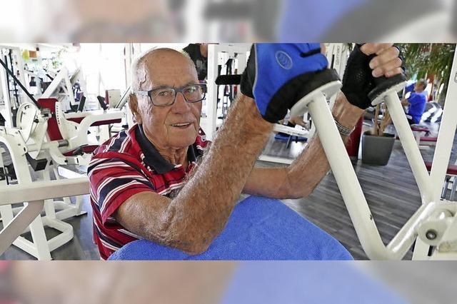 Mit 87 Jahren noch immer topfit