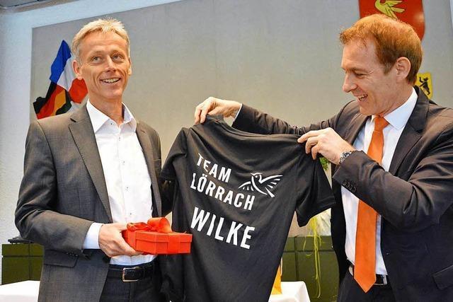 Michael Wilke ist nun Lörracher Bürgermeister a.D.