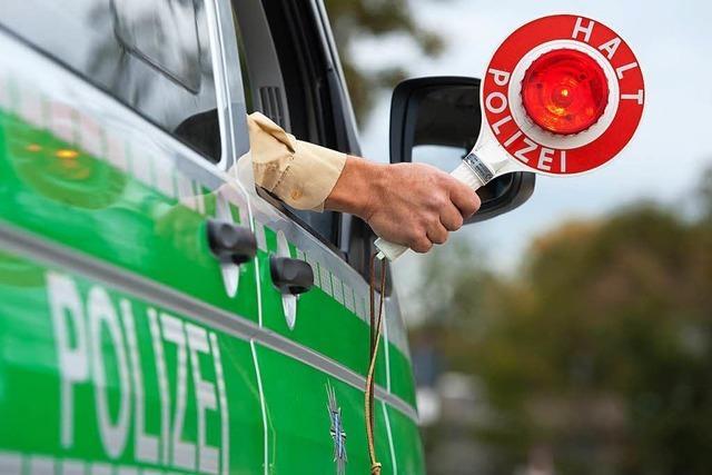 Wie man eine Verkehrskontrolle unbeschadet übersteht