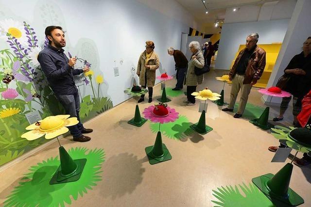 BZ-Leser besuchen die Welt der Bienen in Freiburger Museum