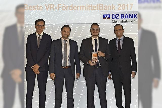Preis für Raiffeisenbank