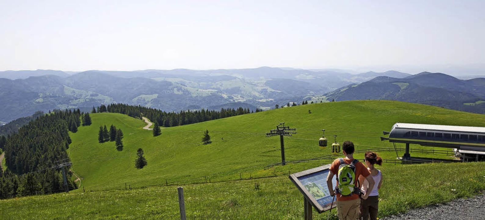 Einmalige Ausblicke erleben die Teilnehmer des Wander-Openings  | Foto:  Schwarzwaldregion Belchen/Ulrike Klumpp