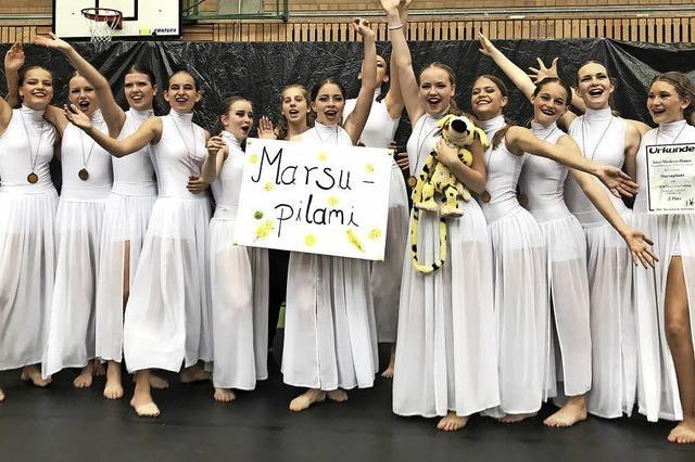 Tanzgruppe Marsupilami holt Bronze im Süden