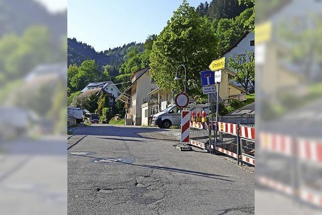 Straßendecke für Adelsberg