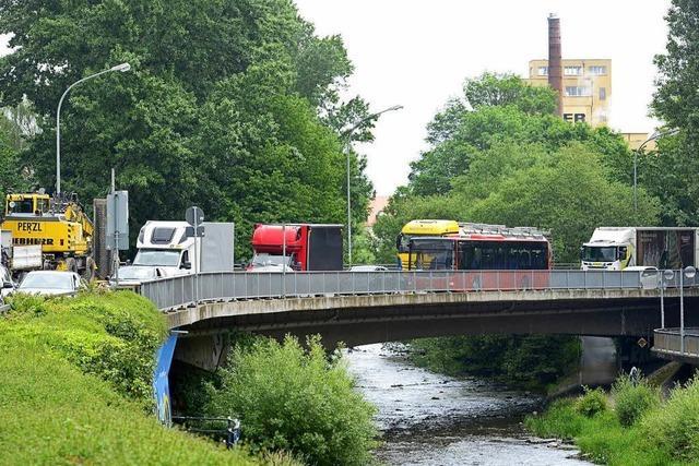 Leo-Wohleb-Brücke wird saniert – und die B31 zum Nadelöhr