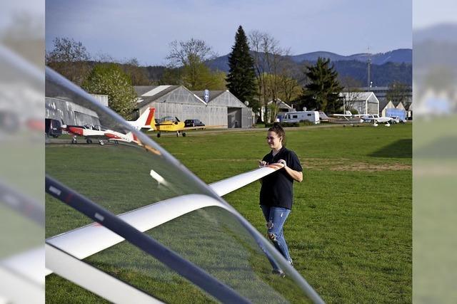 16-jährige Freiburgerin wird zur Segelfliegerin ausgebildet