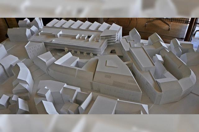 3-D-Modell vom Neuen Markt