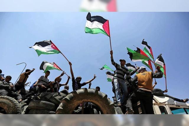 Trauer um Tote von Gaza