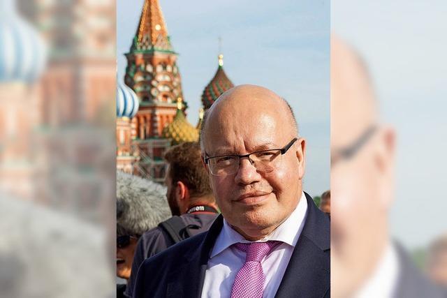 Altmaier sucht den Dialog mit Moskau