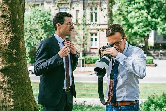 Dieser Freiburger Fotograf verhalf Martin Horn zum Wahlsieg
